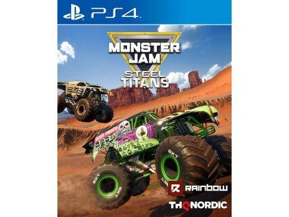 Monster Jam Steel Titans PS4