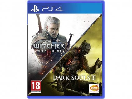 PS4 Dark Souls 3 + The Witcher 3 Wild Hunt Compilation