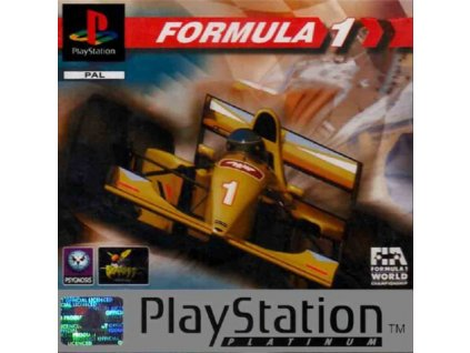 PS1 Formula 1 PLATINUM