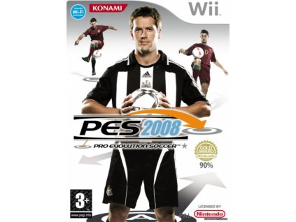 Wii Pro Evolution Soccer 2008