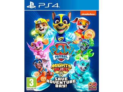 PS4 PAW Patrol Mighty Pups Save Adventure Bay!
