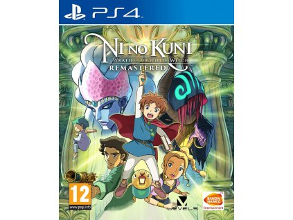 PS4 Ni no Kuni: Wrath of the White Witch REMASTERED