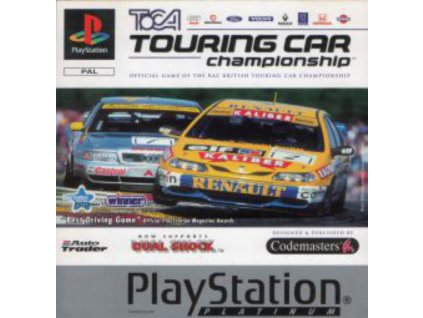 PS1 Toca Touring Car Championship PLATINUM
