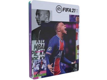 XBOX ONE FIFA 21 CZ Steelbook edition