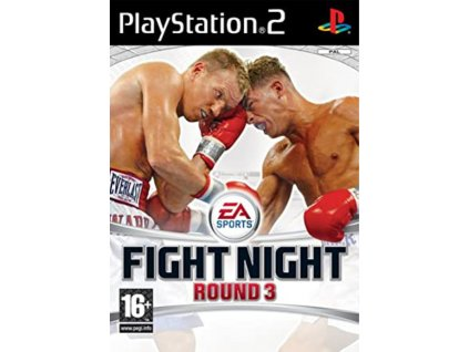 PS2 EA Sports Fight Night Round 3