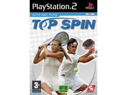 PS2 top spin