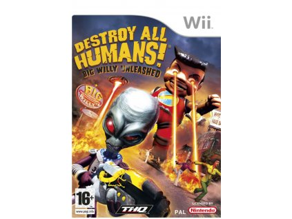 Wii Destroy All Humans! Big Willy Unleashed