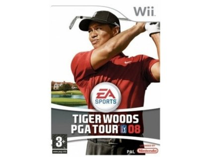 Wii Tiger Woods PGA Tour 08