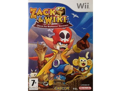 Wii Zack & Wiki Quest for Barbaros' Treasure