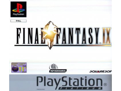 PS1 Final Fantasy IX PLATINUM