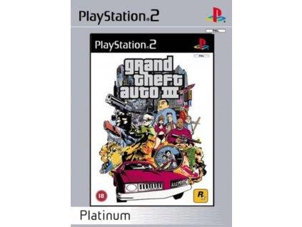 PS2 Grand Theft Auto III (GTA 3) PLATINUM