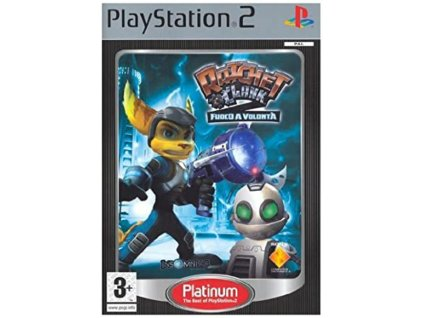 PS2 Ratchet & Clank 2 Locked and Loaded PLATINUM