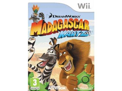 Wii Madagascar: Kartz