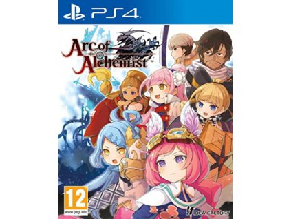 PS4 Arc of Alchemist