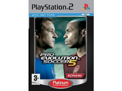 PS2 Pro Evolution Soccer 5 PLATINUM