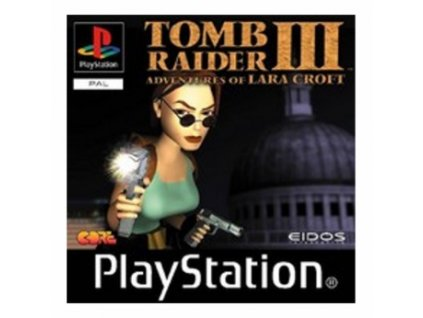 PS1 Tomb raider 3