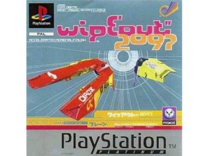 PS1 Wipeout 2097 PLATINUM