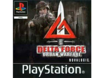 Delta Force Urban Warfare ps1