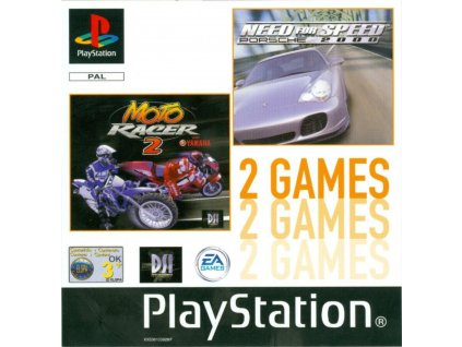Need for Speed Porsche 2000 + Moto Racer 2