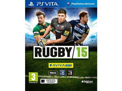 PS VITA rugby 15
