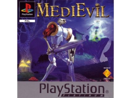 PS1 medievil platinum