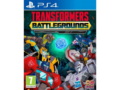 PS4 Transformers Battlegrounds