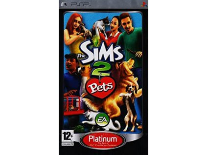 PSP The Sims 2 Pets PLATINUM