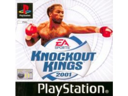 PS1 Knockout Kings 2001