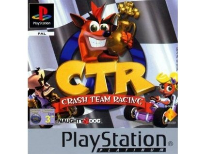PS1 Crash Team Racing Platinum