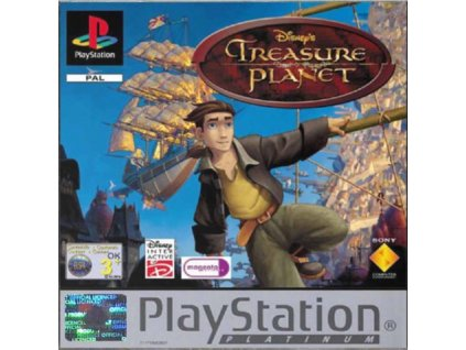 PS1 Disney's Treasure Planet PLATINUM