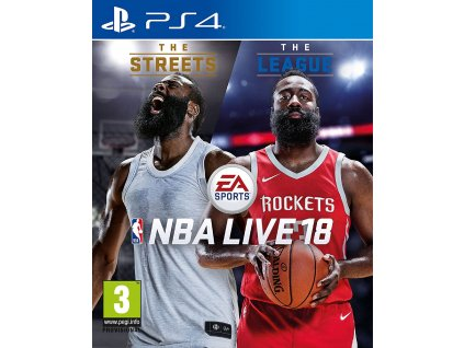 PS4 NBA LIVE 18 The One Edition