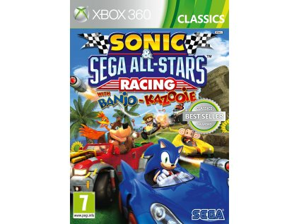 Sonic and SEGA All Stars Racing with. Banjo and Kazooie (Classics) X360