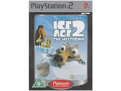 PS2 Ice Age 2 The Meltdown PLATINUM