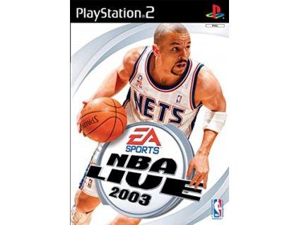 PS2 nba live 2003