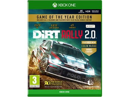 DiRT Rally 2.0 (Game of the Year Edition) XBOX ONE