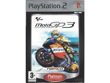 PS2 Moto GP 3 PLATINUM