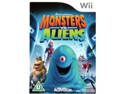 Wii monsters vs aliens