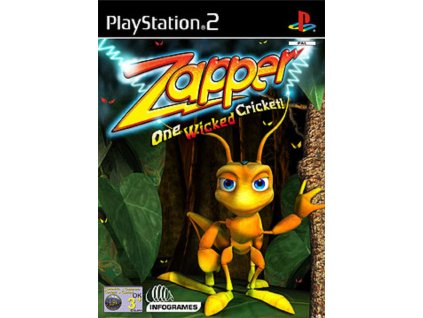 PS2 Zapper One Wicked Cricket