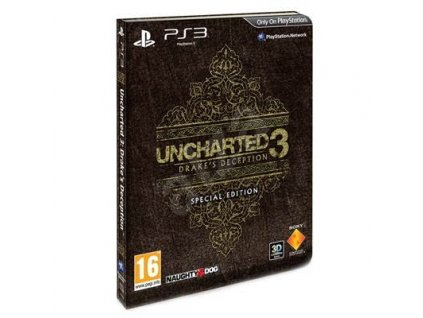 PS3 Uncharted 3: Drake's Deception (Special Edition) CZ