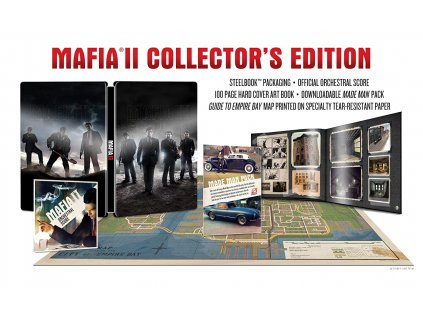 PS3 Mafia 2 Collectors Edition