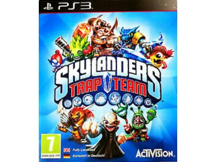 PS3 Skylanders Trap Team