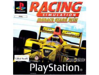 ps1 racing simulation monaco grand prix