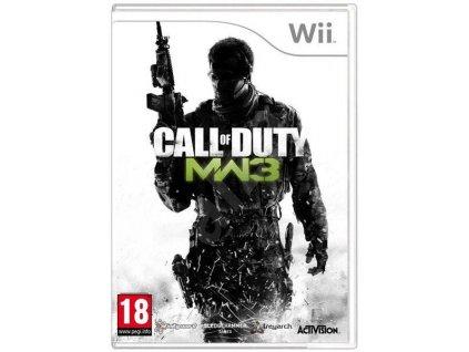 Wii Call of Duty: Modern Warfare 3