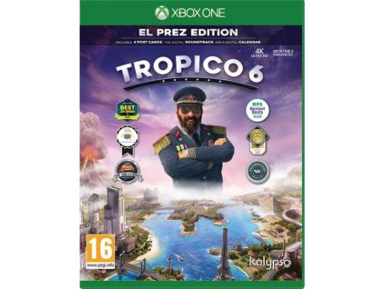 xbox one tropico 6 El Prez Edition