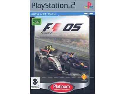 PS2 F1 05 platinum