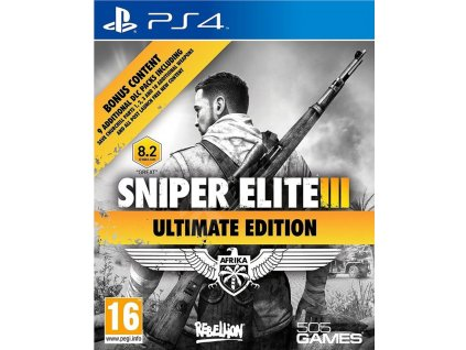 Sniper Elite 3 (Ultimate Edition) PS4
