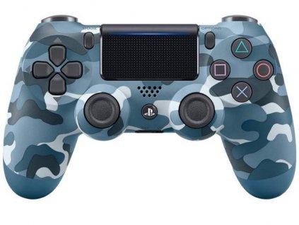 PS4 Dualshock 4 V2 Bezdrátový ovladač ORIGINÁLNÍ (blue camo)