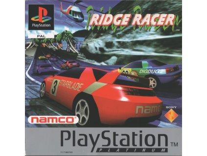 PS1 Ridge Racer PLATINUM