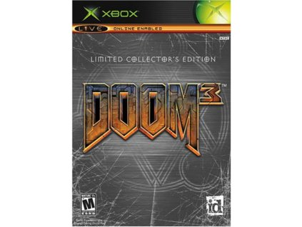 xbox doom 3 limited collectors edition