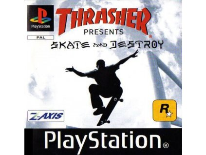 PS1 Thrasher Presents Skate and Destroy